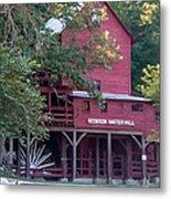 Hodgson Water Mill Metal Print by Leroy McLaughlin