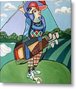 Hole In One Metal Print by Anthony Falbo