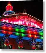 Holiday Lights 2012 Denver City And County Building L1 Metal Print by Feile Case