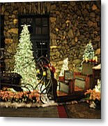 Holiday Sleigh Hsp Metal Print by Jim Brage