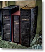 Holy Bibles Metal Print by Adrian Evans
