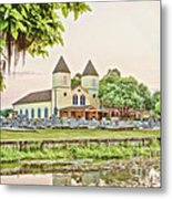 Holy Rosary Church Metal Print by Scott Pellegrin