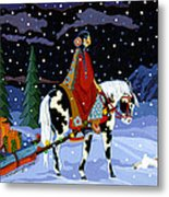 Home For The Holidays Metal Print by Chholing Taha