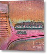 Homestead Chev Metal Print by Jerry McElroy
