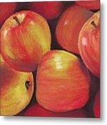 Honeycrisp Apples Metal Print by Anastasiya Malakhova