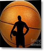Hoop Dreams Metal Print by Cheryl Young