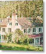 Hopewell Furnace In Pennsylvania Metal Print by Olivier Le Queinec