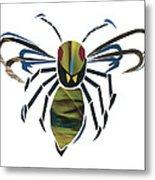 Hornet Metal Print by Earl ContehMorgan