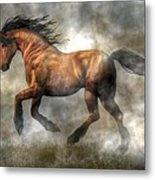 Horse Metal Print by Daniel Eskridge