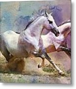 Horse Paintings 004 Metal Print by Catf