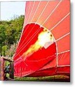 Hot Air Balloon Metal Print by Tom Gowanlock