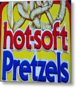 Hot Pretzels Metal Print by Skip Willits