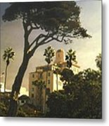 Hotel California- La Jolla Metal Print by Steve Karol