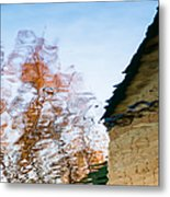 House By The Lake Metal Print by Alexander Senin