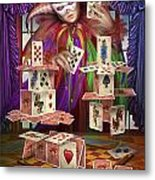 House Of Cards Metal Print by Ciro Marchetti