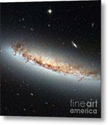Hubble Views Ngc 4402 Metal Print by Science Source