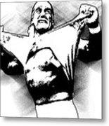 Hulk Hogan By Gbs Metal Print by Anibal Diaz