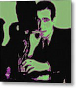 Humphrey Bogart And The Maltese Falcon 20130323 Metal Print by Wingsdomain Art and Photography