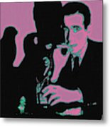 Humphrey Bogart And The Maltese Falcon 20130323m138 Square Metal Print by Wingsdomain Art and Photography