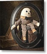 Humpty Dumpty Metal Print by Tom Mc Nemar