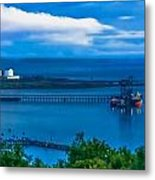 Hunterston Deep Water Terminal Ayrshire Metal Print by Tylie Duff