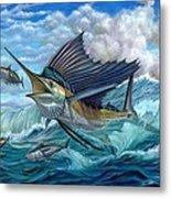 Hunting Sail Metal Print by Terry Fox