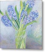 Hyacinths Metal Print by Sophia Elliot