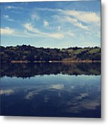 I Float On Anyway Metal Print by Laurie Search