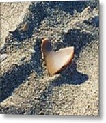 I Heart The Beach Metal Print by Anna Villarreal Garbis