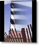 I Saw The Lighthouse Move Metal Print by Mike McGlothlen