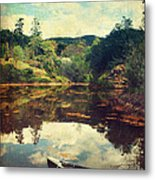 I Tried To Get To You Metal Print by Laurie Search