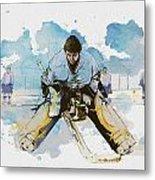 Ice Hockey Metal Print by Corporate Art Task Force