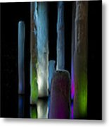 Ice Lighted Metal Print by Ivete Basso Photography
