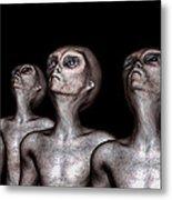 If One Was Three Metal Print by Bob Orsillo