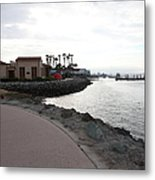 Il Fornaio Italian Restaurant In Coronado California 5d24370 Metal Print by Wingsdomain Art and Photography