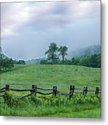 Imaginary Morning On The Blue Ridge I Metal Print by Dan Carmichael