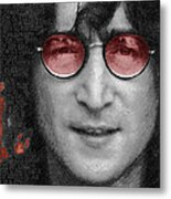 Imagine John Lennon  Metal Print by Tony Rubino