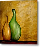 Imperfect Vases Metal Print by Brenda Bryant