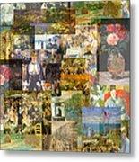 Impressionism 1870s To Begin Xxth Century Metal Print by Anders Hingel