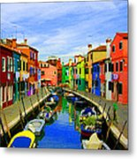 Impressionistic Photo Paint Gs 013 Metal Print by Catf