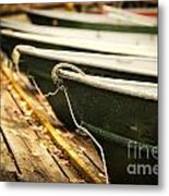 In A Line Metal Print by Todd Bielby