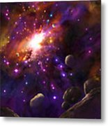 In The Beginning... Metal Print by Tamer and Cindy Elsharouni