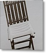 In The Cold Metal Print by Odd Jeppesen