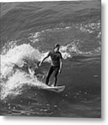 In The Zone  Metal Print by Tom Kelly