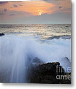 Incoming Metal Print by Mike  Dawson