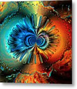 Incomplete Metamorphosis Metal Print by Claude McCoy