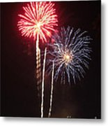 Independence Day Sparklers Metal Print by Deborah Smolinske