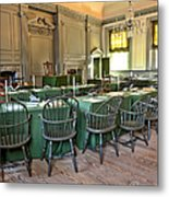 Independence Hall Metal Print by Olivier Le Queinec