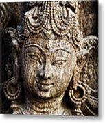 Indian Goddess Metal Print by Tim Gainey