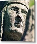 Indian Statue Metal Print by Retro Images Archive